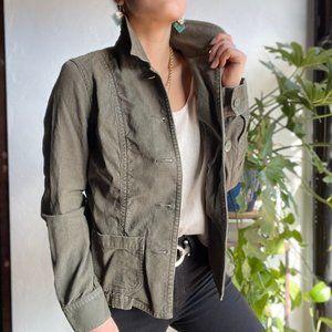Eddie Bauer   Green Corduroy Jacket
